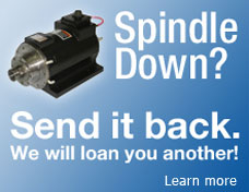 Spindle Exchange Repair Service
